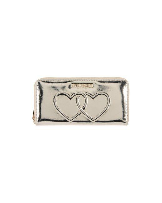 Love Moschino - Metallic Wallet - Lyst