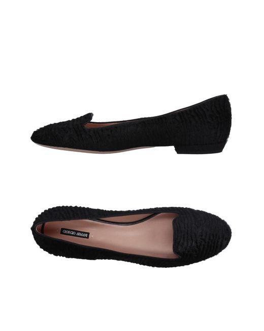 Giorgio Armani | Black Loafer | Lyst
