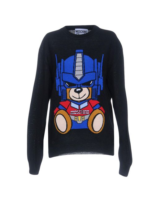 Moschino - Black Sweaters for Men - Lyst