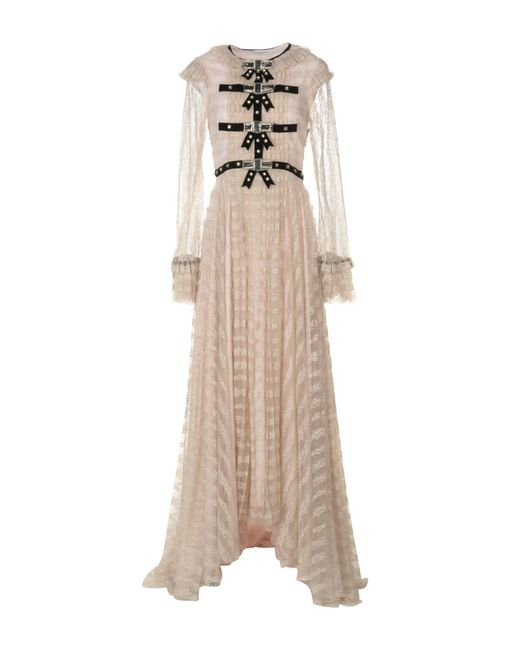 Philosophy Di Lorenzo Serafini - Natural Long Dress - Lyst