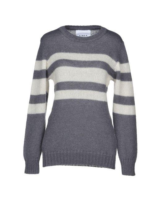 Ainea - Gray Sweaters - Lyst