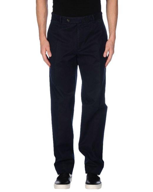 Incotex - Black Casual Trouser for Men - Lyst