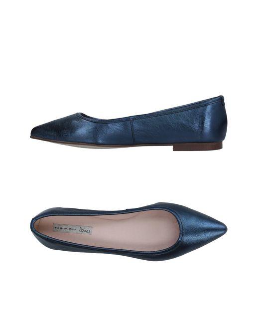 Tosca Blu - Blue Ballet Flats - Lyst