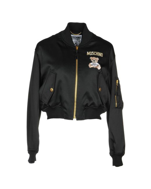 Moschino - Black Jacket - Lyst
