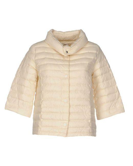 Bomboogie - White Down Jacket - Lyst