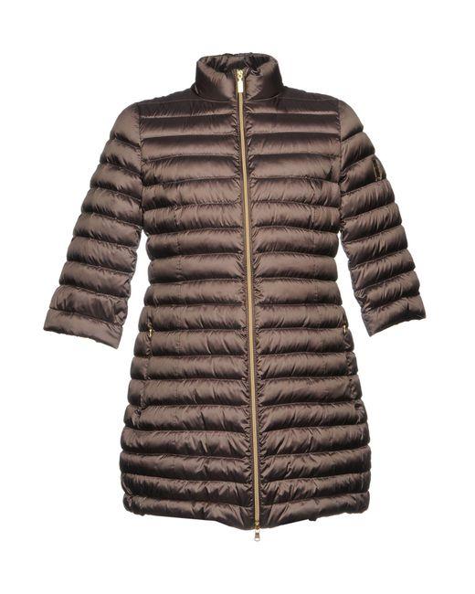 Geospirit - Gray Down Jacket for Men - Lyst