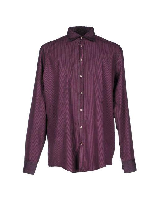 Massimo Alba - Red Shirt for Men - Lyst