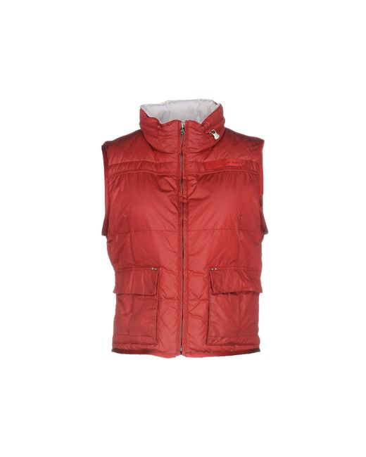 Peuterey   Red Down Jacket   Lyst
