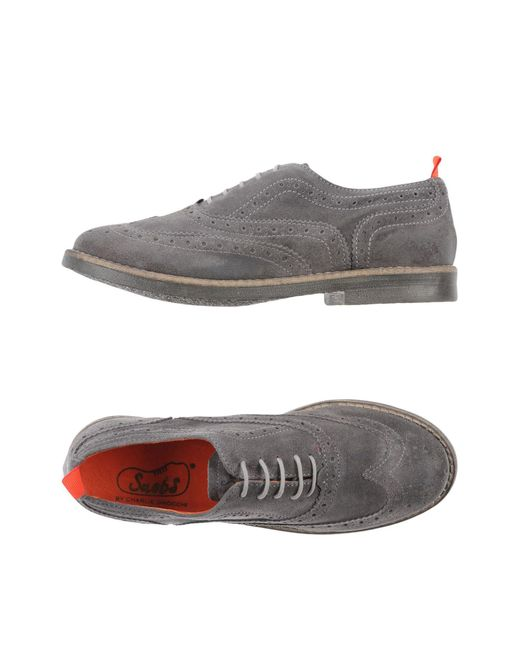 Snobs | Gray Lace-up Shoe | Lyst
