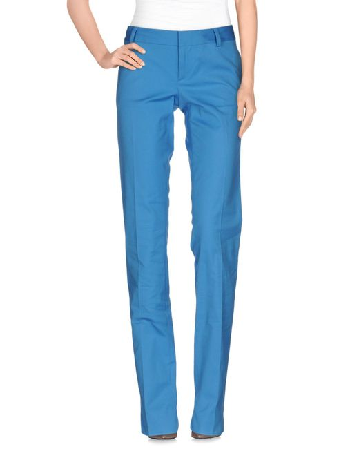 DSquared² - Blue Casual Trouser - Lyst