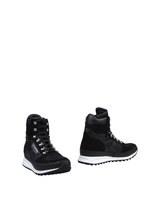 DSquared² | Black Ankle Boots for Men | Lyst