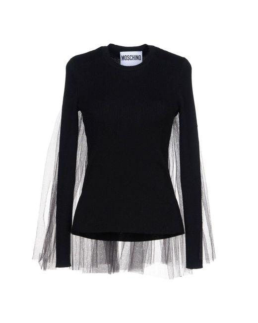 Moschino - Black Sweaters - Lyst