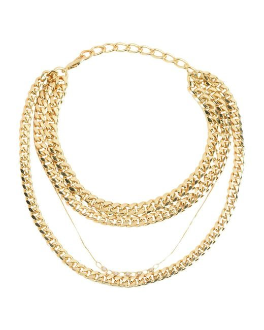 Gogo Philip - Metallic Necklaces - Lyst