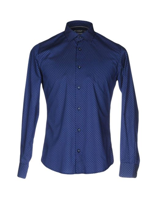 AT.P.CO - Blue Shirts for Men - Lyst