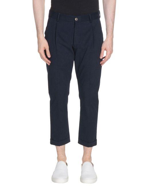 26.7 Twentysixseven - Blue 3/4-length Shorts for Men - Lyst