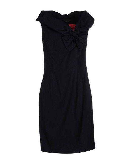 DSquared² - Blue Short Dresses - Lyst