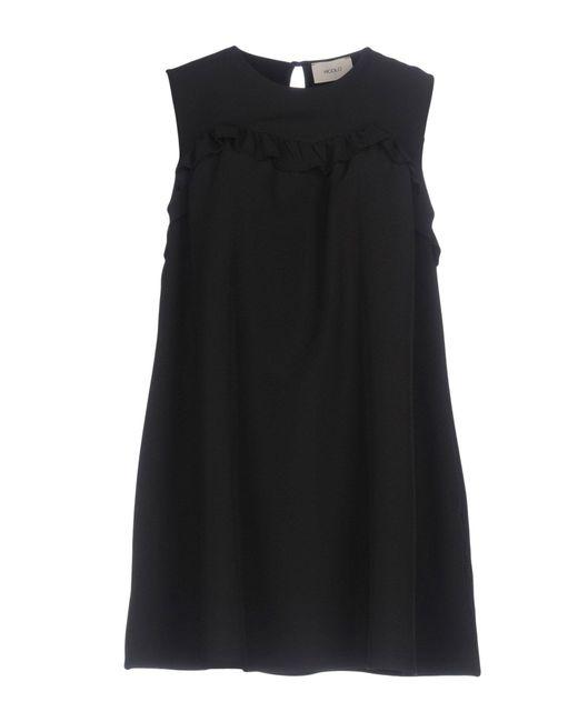 ViCOLO - Black Short Dress - Lyst