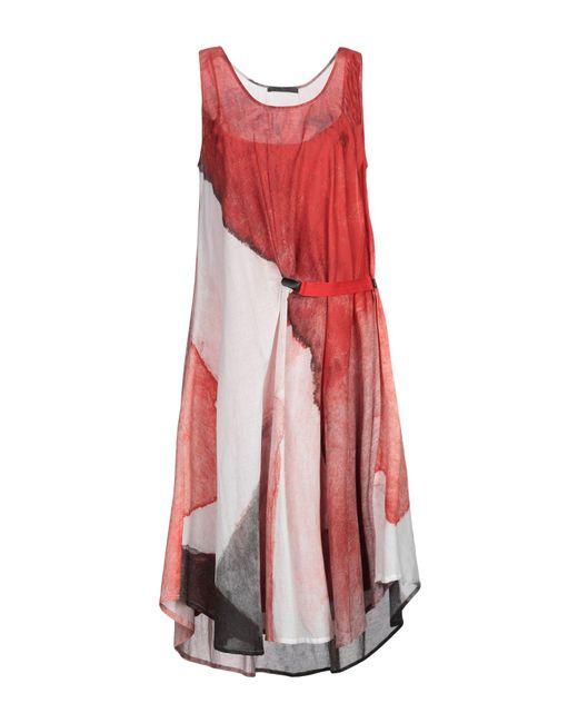 Crea Concept - Red Knee-length Dress - Lyst