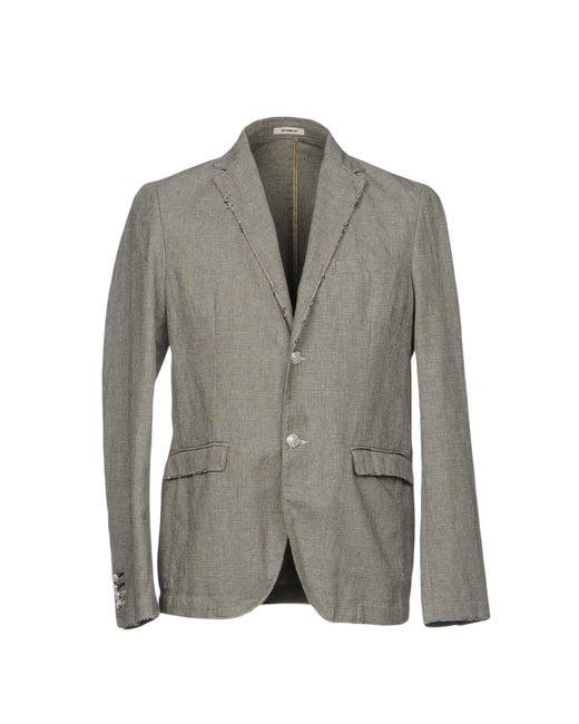 Officina 36   Gray Blazers for Men   Lyst