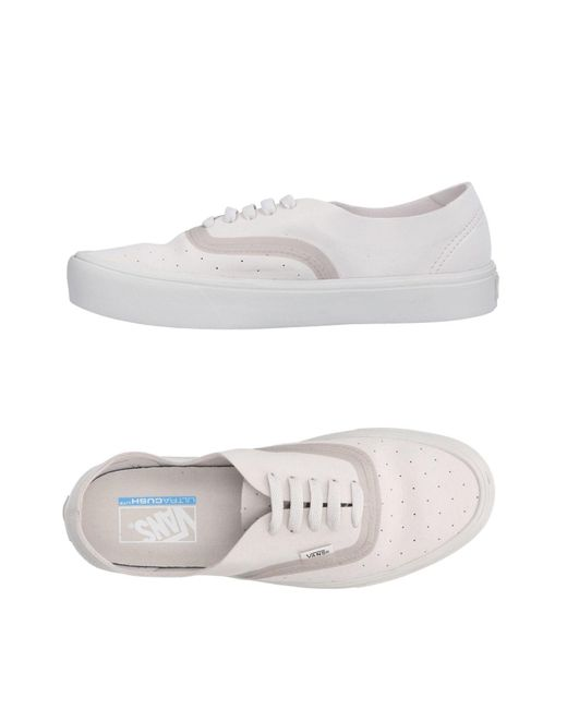 Vans - Gray Low-tops & Sneakers for Men - Lyst