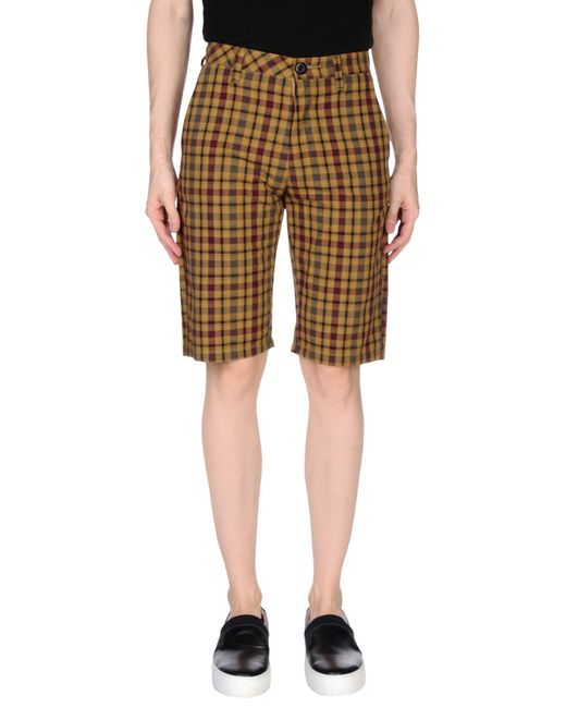 Volcom - Brown Bermudas for Men - Lyst