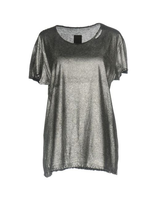 RTA - Metallic T-shirt - Lyst