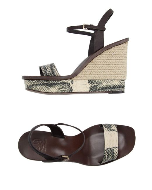 Tory Burch - Natural Espadrilles - Lyst