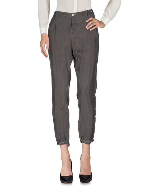 Jfour - Gray Casual Pants - Lyst