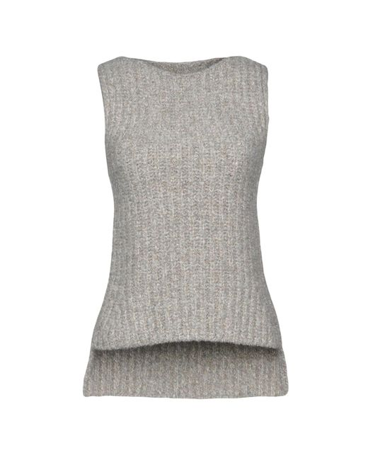 Eleventy - Natural Sweaters - Lyst