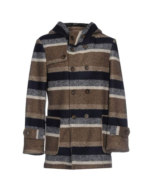 LABORATORI ITALIANI - Multicolor Coat for Men - Lyst