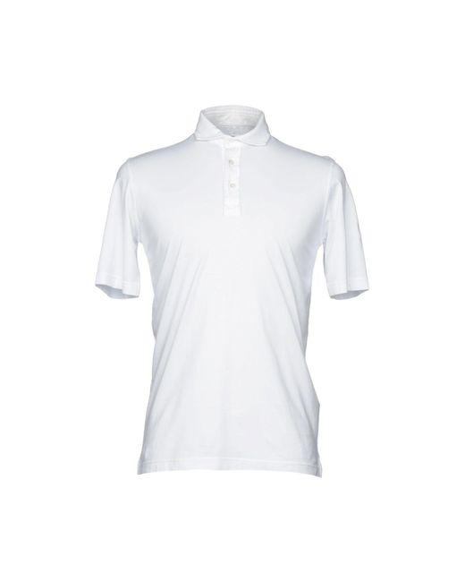 Fedeli - White Polo Shirt for Men - Lyst