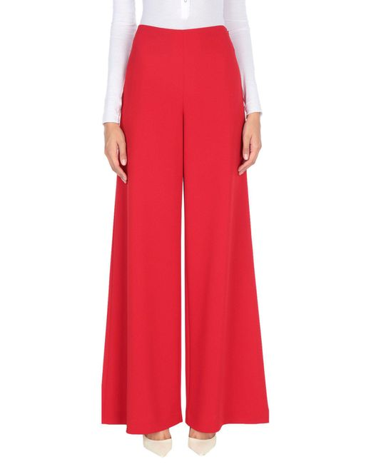 Ralph Lauren Collection - Red Casual Trouser - Lyst