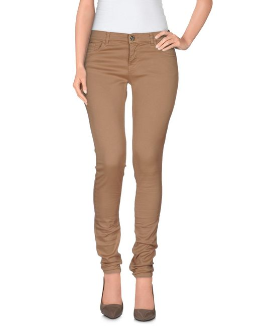 Twin Set - Brown Casual Trouser - Lyst