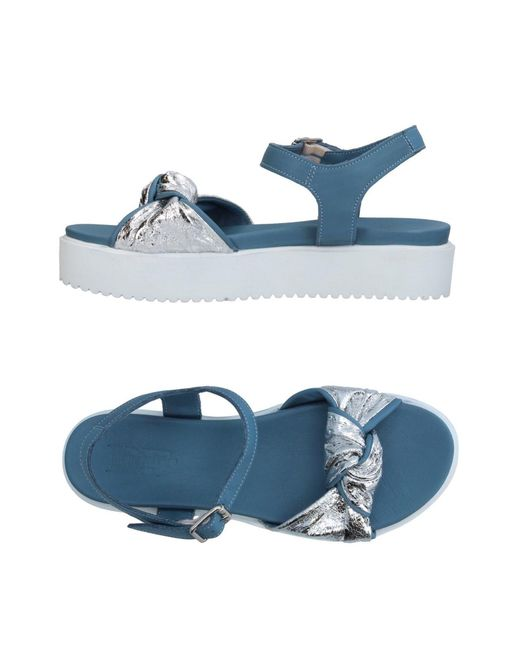 Divine Follie - Blue Sandals - Lyst