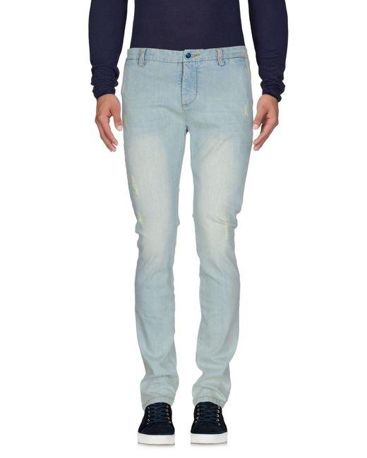 Dimattia | Blue Denim Trousers for Men | Lyst