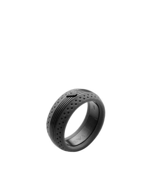 Emporio Armani | Gray Ring | Lyst
