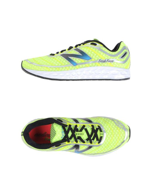 New Balance - Green Low-tops & Sneakers - Lyst