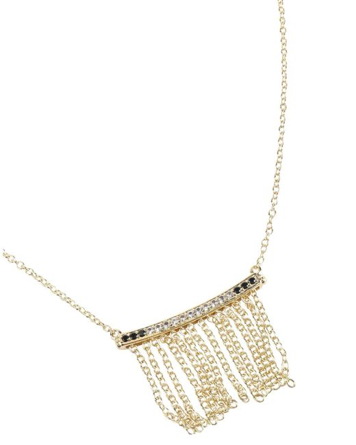 Elizabeth and James - Metallic Necklace - Lyst