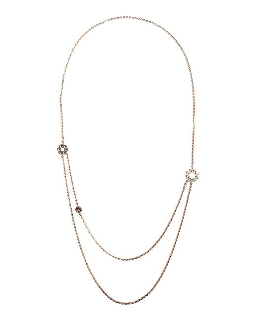 Rebecca - Metallic Necklaces - Lyst