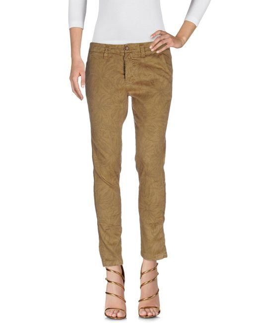 TRUE NYC - Natural Denim Pants - Lyst