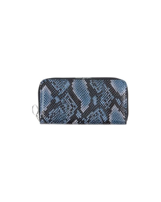MM6 by Maison Martin Margiela - Blue Wallets - Lyst