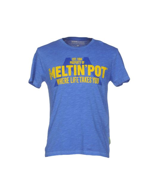 Meltin' Pot - Blue T-shirt for Men - Lyst