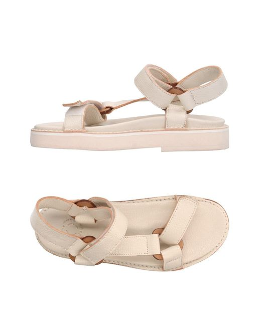 Buttero - White Sandals - Lyst