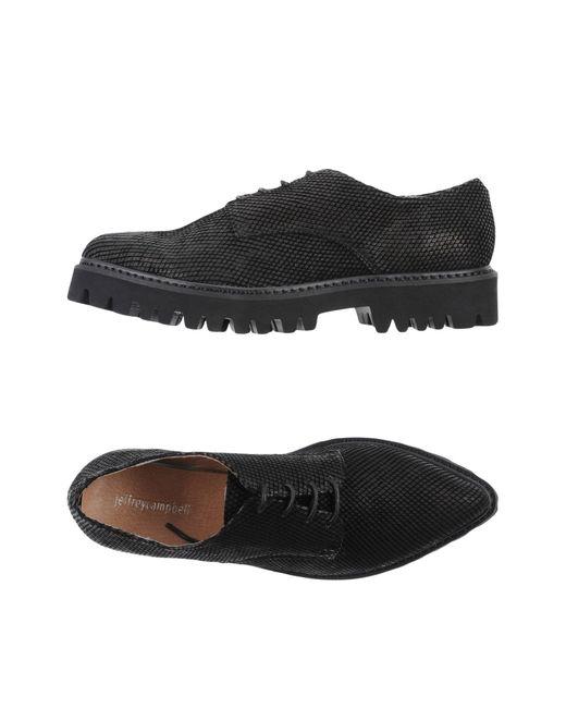 Jeffrey Campbell | Black Lace-up Shoe | Lyst