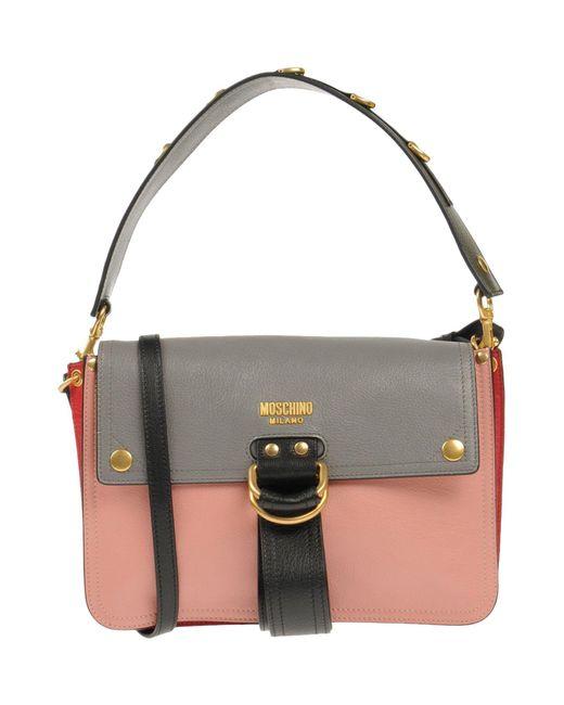 Moschino - Pink Handbag - Lyst