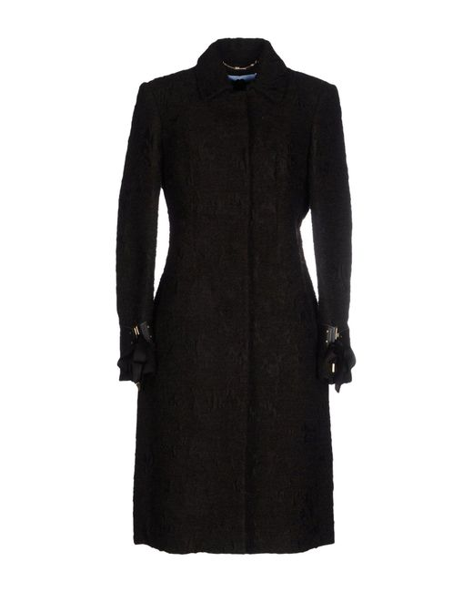 Blumarine | Brown Coat | Lyst