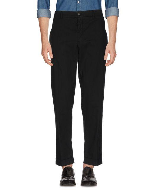 Aspesi - Black Casual Trouser for Men - Lyst