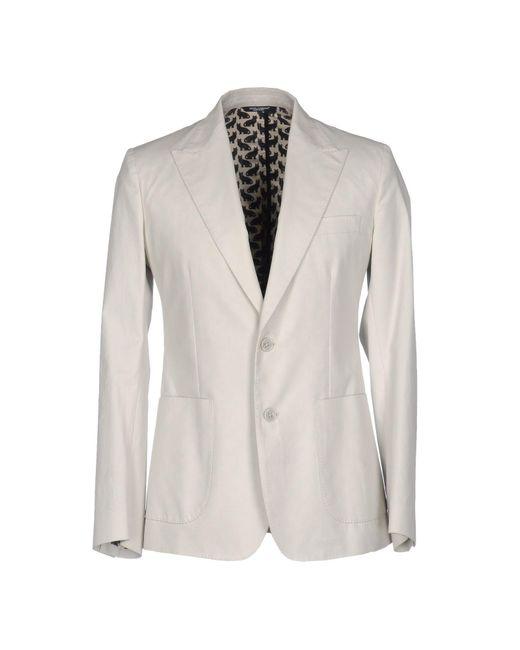 Dolce & Gabbana - White Blazer for Men - Lyst