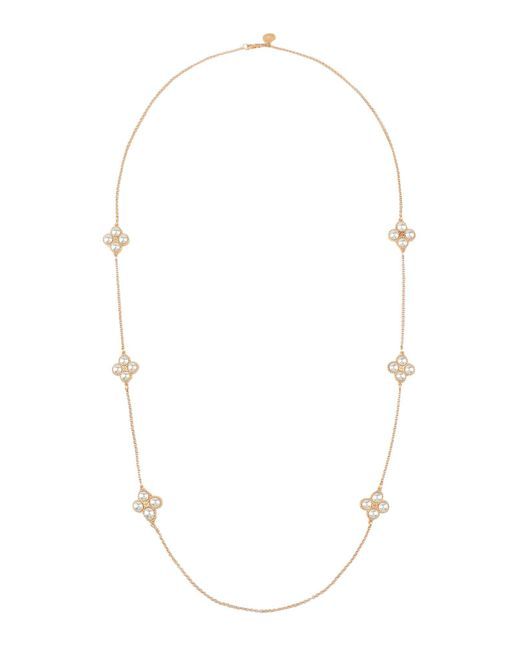 Tory Burch Metallic Necklace