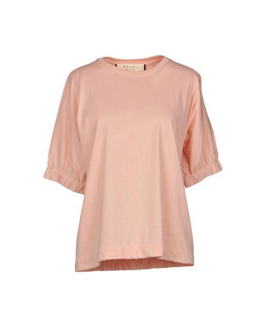 Marni - Pink T-shirt - Lyst